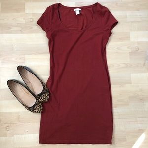 H&M • tee shirt dress